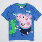 NEW Boys Peppa Pig Short Sleeve T-Shirt George Dinosaur Top Size 1, 2,4, 5 on eBay for $11