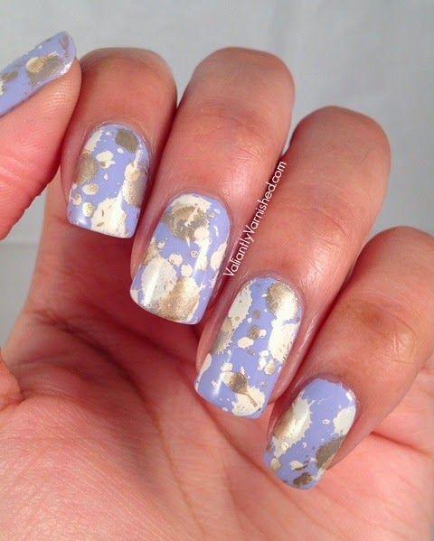 Valiantly Varnished: 31DC2014: Day 6 - Violet Nails