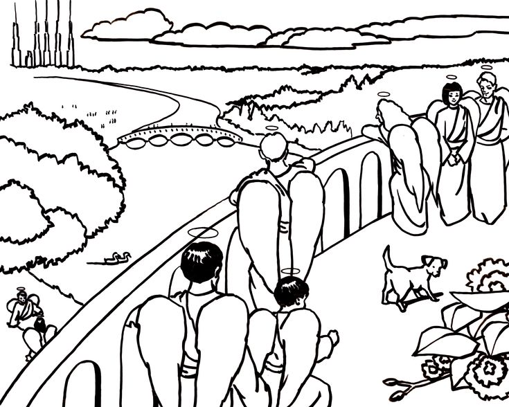 Rain Rain Go Away Coloring Page: The Heaven Is For Real App Has Beautiful Coloring Pages