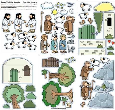 4. De Goede Herder-Het verloren schaap