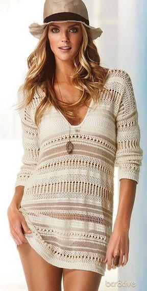 Crochet Cover-up Sweater - Victoria's Secret -