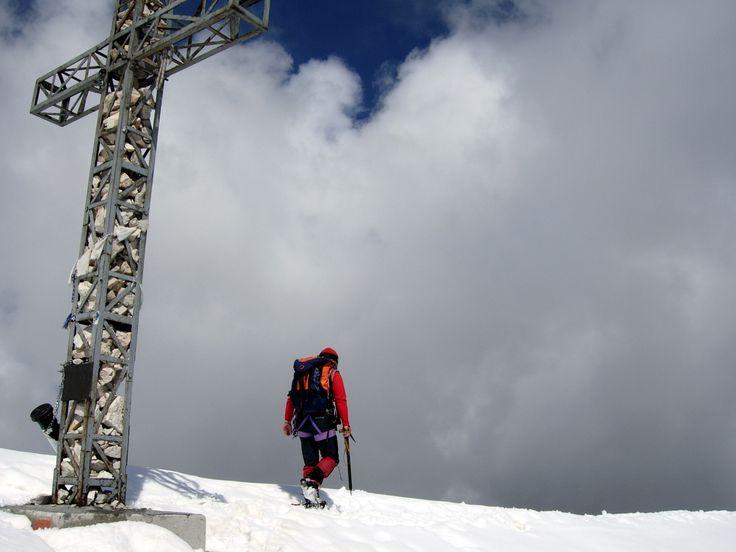 Tofana di Rozes summit cross - Dolomites, Italy