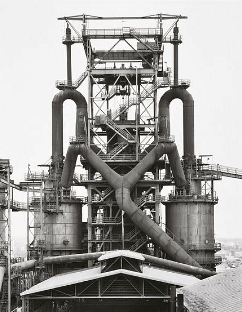 #Bernd & #Hilla #Becher, Blast #Furnaces, #Photography, Die #Photographische Sammlung, #Cologne, #Germany