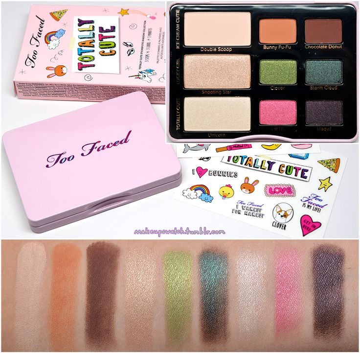 1000+ Ideas About Too Faced Palette On Pinterest