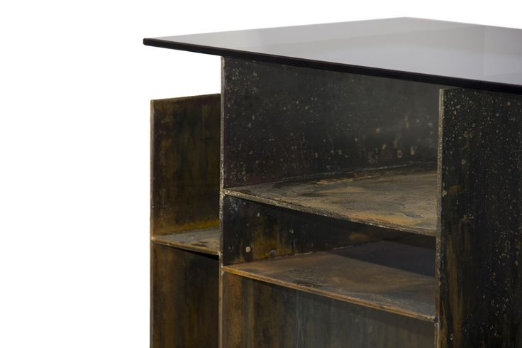A modern home decor masterpiece born in Beijing's skyline. The astonishing KYAN Modern Console Table is an edgy and strong piece created to take the cosmopolitan style of urban tribes into your modern home decor. KYAN derives from Yan, one the many names Beijing had in the past and from the word skyline as well. When placed wisely, KYAN provides a remarkable touch of elegance in any modern home decor. Made from iron with acid reaction finish this modern console table tells a story with an…