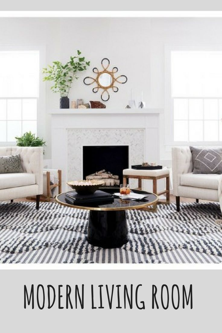 Love This Circular Black And Gold Coffee Table Add Instant Style To Your Modern Contemporary Decor Trendy Living Rooms Living Room Designs Living Room Colors [ 1104 x 736 Pixel ]