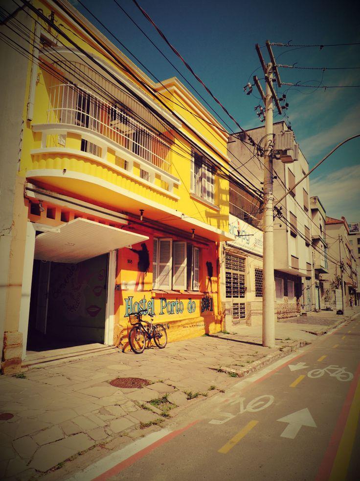 Hostel Porto do Sol (Rua Mariante em Porto Alegre, RS) #hostelworld #holahostels #Portoalegrehostel @Brazilhostel @Brazil