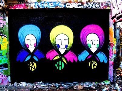 """Kashink da IL RAMO D'ORO """"Street Art"""" https://ilramodoro-katyasanna.blogspot.it/2013/11/street-art.html"""