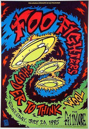 Foo Fighters Concert poster
