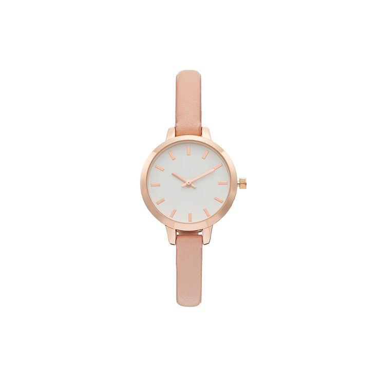 Women's Pink Watch, Size: Small