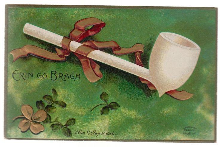 1911 USA postcard Cover Ellen Clapsaddle Saint Patrick s Day Erin Go Bragh