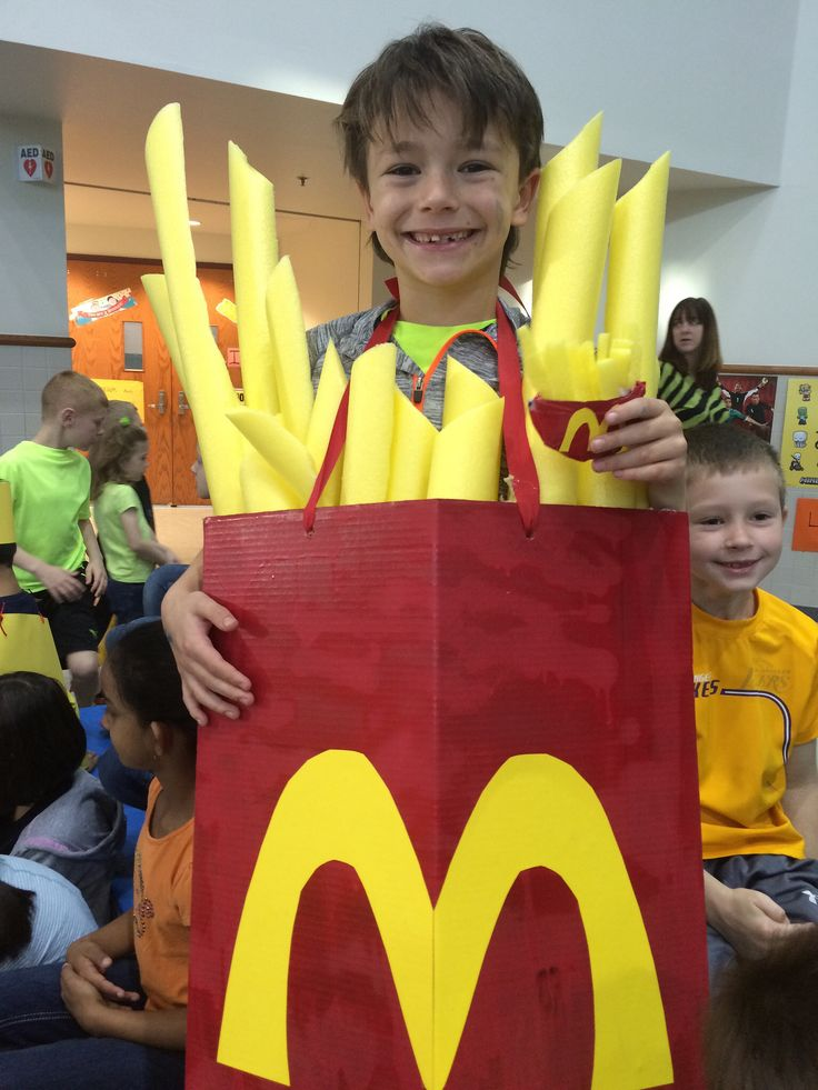 Mcdonalds French Fries Costume Own Crafty Diy