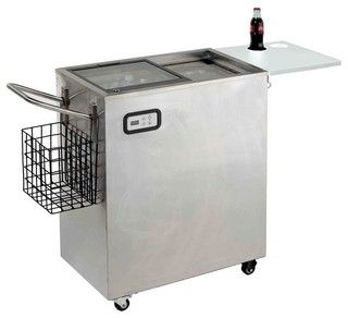 AVANTI ORC2519SS STEEL OUTDOOR BEVERAGE COOLER PORTABLE 2.5CF - traditional - major kitchen appliances - by BuilderDepot, Inc.