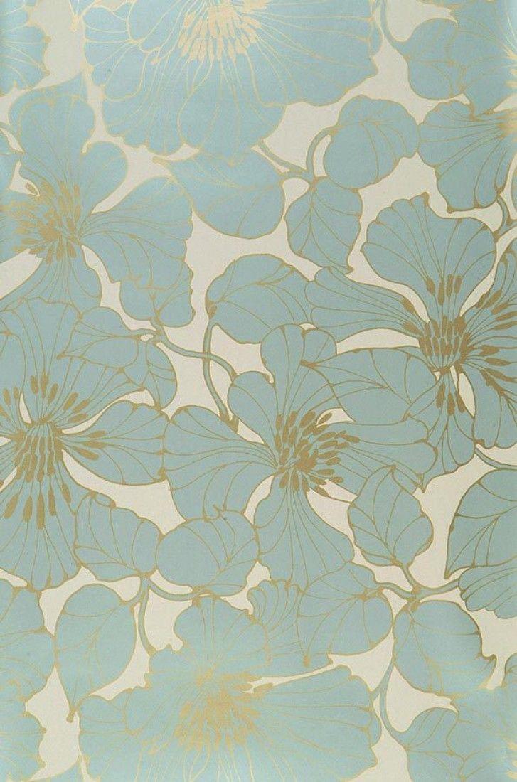 1000 ideas about floral wallpapers on pinterest vintage. Black Bedroom Furniture Sets. Home Design Ideas