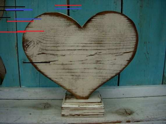 Barn Wood Heart Sign In 2020 With Images Wooden Hearts How To Distress Wood How To Antique Wood