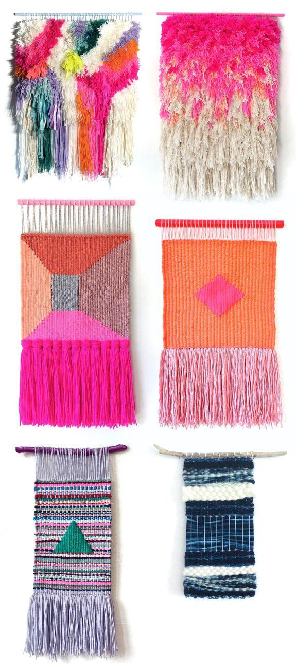 1000 Ideas About Hand Weaving On Pinterest Weaving