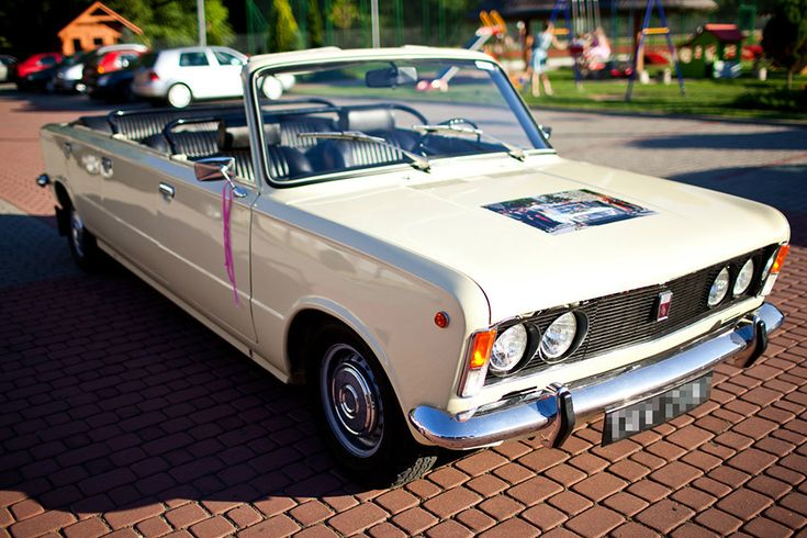 Польский папамобиль Fiat-125p VIP Papamobil