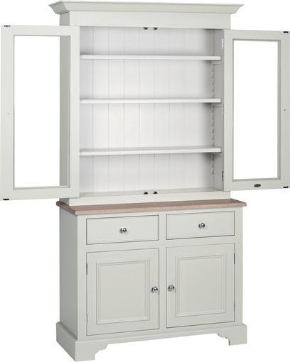 Neptune Chichester 3ft6 Glazed Dresser | Dining Furniture