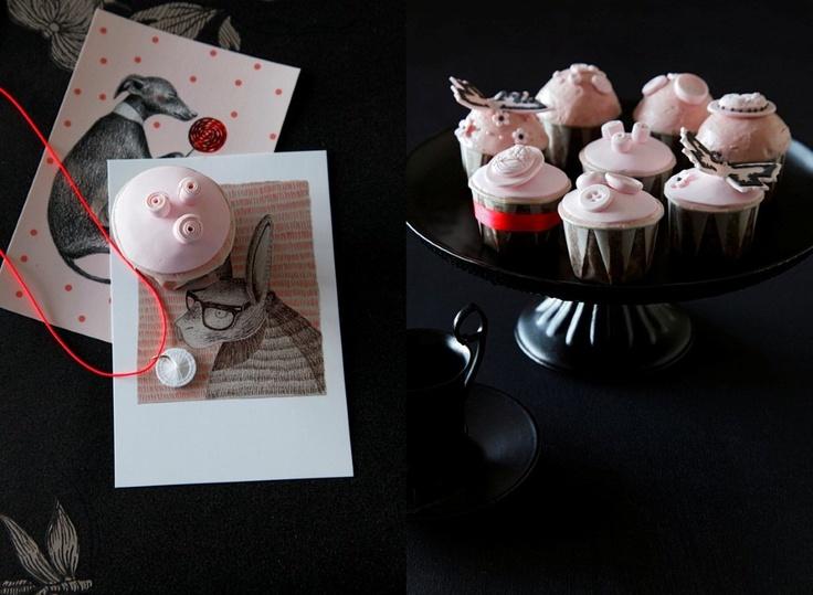 Cupcakes by Yvette bakt... in Residence magazine
