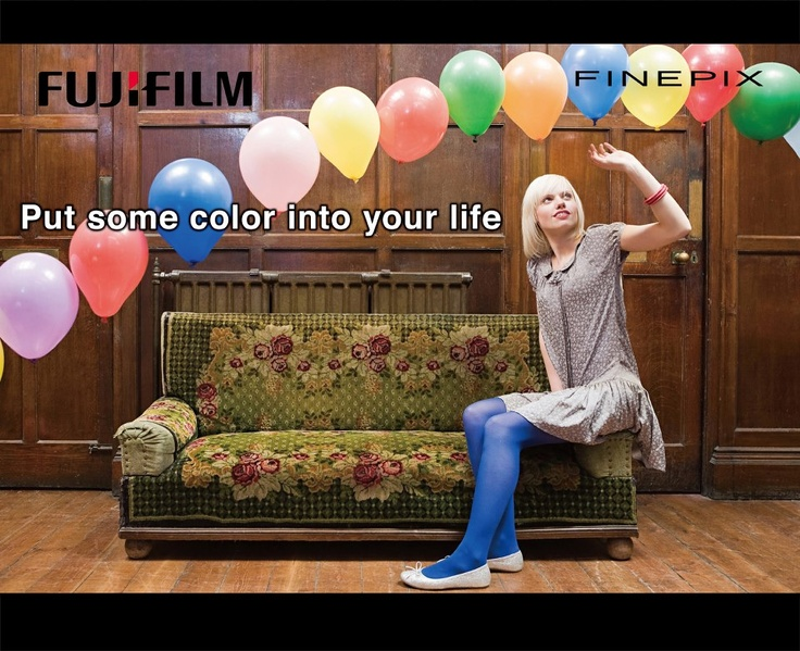 Fujifilm: put some colour into your life. Available from Fotofirst Mossel Bay