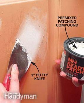 How To Patch Dents In A Metal Door Metal Garage Doors