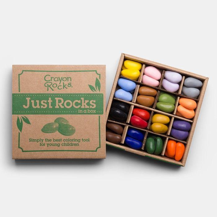 Kinder-Malkreiden aus Sojabohnen und natürlichen, mineralischen Farb-Pigmenten, vegan (16 Farben á 4 Malkreiden) Die wunderbaren Crayon Rocks - Malkreiden sind ein echtes Erlebnis, das uns vom ersten Moment des Kennenlernens an emotional gepackt hat: die runden, handschmeichlerischen Malkreiden wollen einfach und unwiderstehlich angefasst und befühlt werden. Und hat man einmal die Malkreiden in der Hand, kommt man nicht umhin, umgehend die lebendig leuchtenden Farben als reiche, satte…