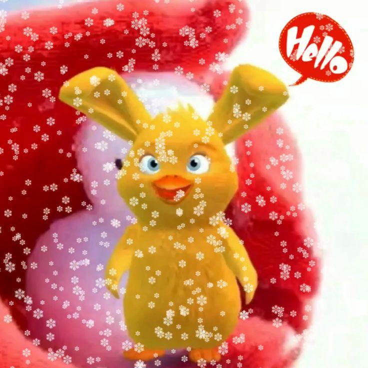 Hello guten Tag, endlich schneit es.⛄️   Guten morgen
