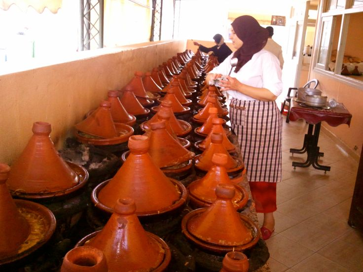 Tajine, lounasaika, Sidi Kacem