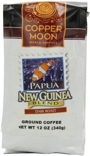 Copper Moon Papua New Guinea Coffee, Dark Roast, « Lolly Mahoney