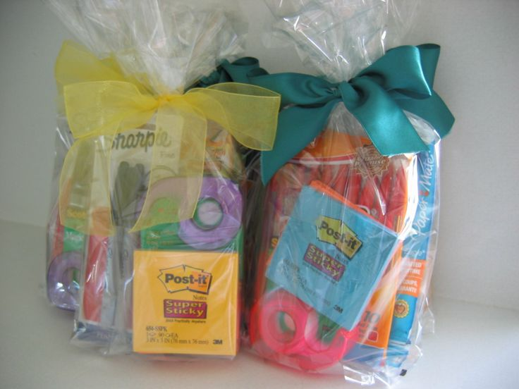 teacher appreciation gift school supplies
