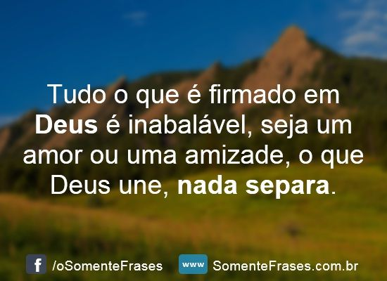 Maravilhosas Frases de Deus