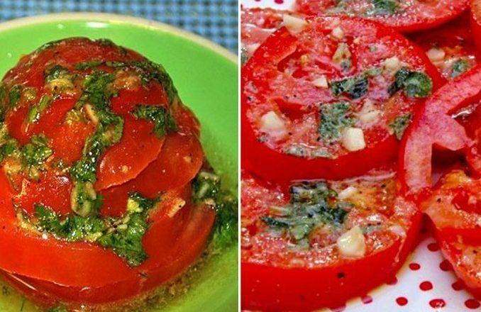 Aj vy milujete jesť zeleninu len tak vdobrej marináde, alebo ugrilovanú? Paradajky sú vsezóne celoročne ato najmä vďaka skleníkom. Ak sa vám už minuli cukety abaklažány, pripravte si na grile paradajky vtejto fantastickej marináde. Môžete ich do nej namočiť azjesť aj bez tepelnej úpravy. Budete potrebovať: 3-4 strúčiky cesnaku ½ ČL soli ½ ČL cukru
