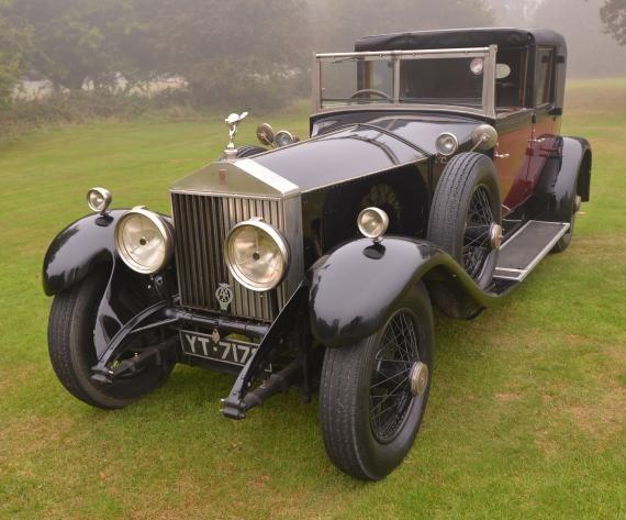 1927 Rolls Royce Phantom 1 Sedanca De Ville.