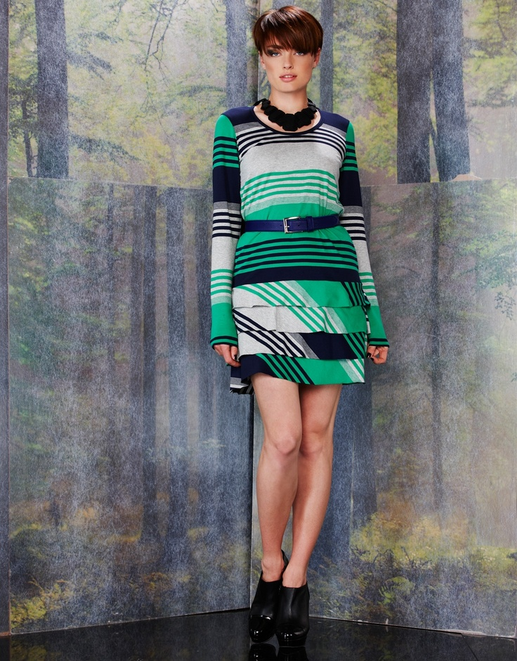 Racing Stripes Tunic - DAY AW13 : Dresses Online Australia, Dresses Online NZ | Andrea Moore