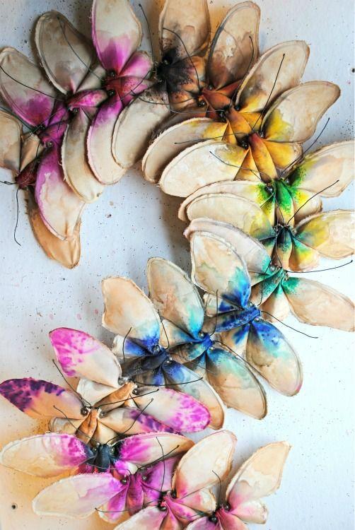 Rainbow of butterflies http://finch-uk.com/