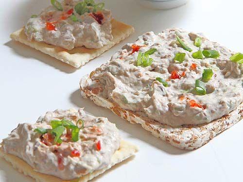 Бутербродная намазка из сардин со сливочным сыром