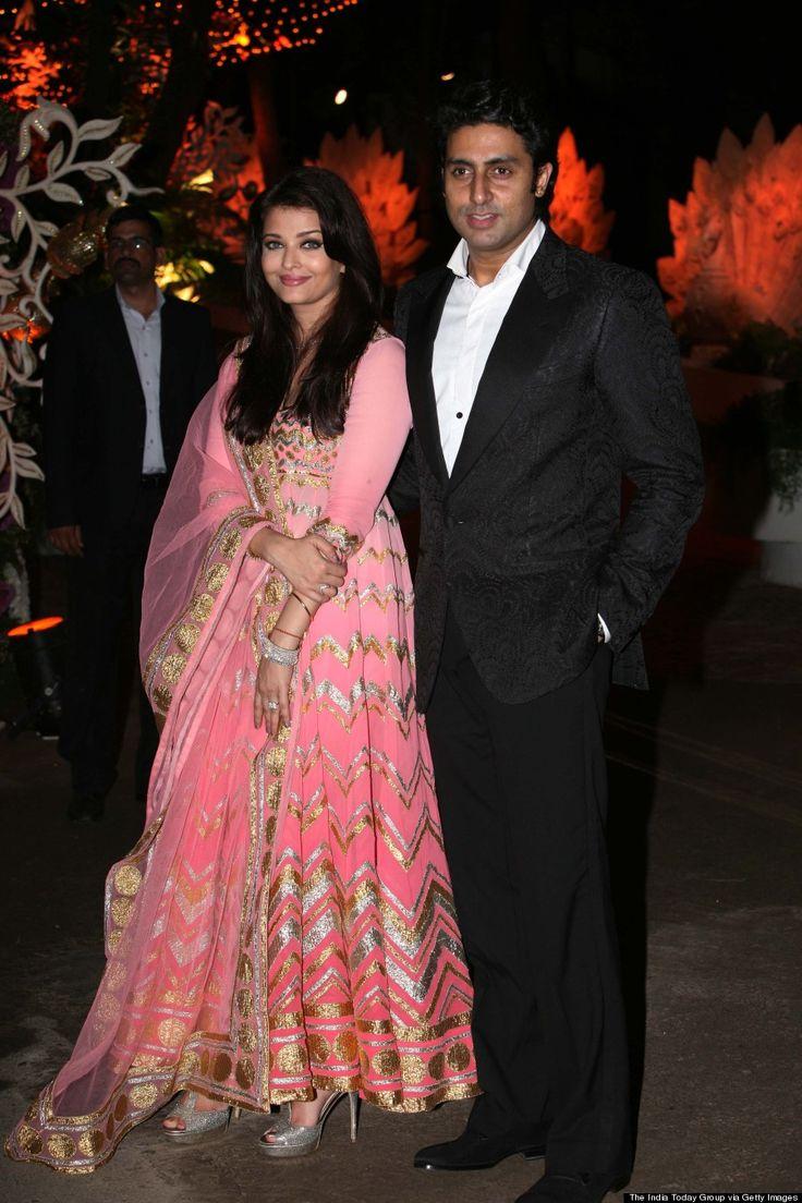 Aishwarya Rai And Abhishek Bachchan Dazzle At Friends Party (PHOTOS)