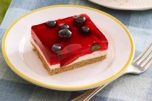 Carrés aux petits fruits en gelée   Recette, idées-repas, dîner, souper - cuisine   Kraft - quest-ce qui mijote