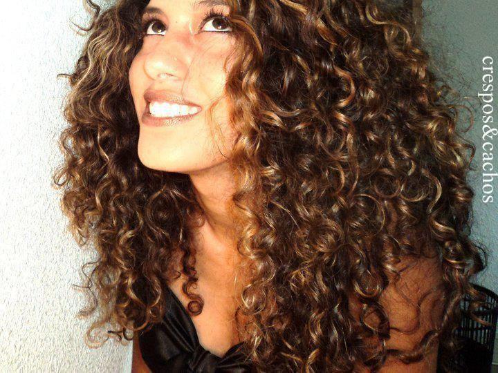 Ombré Hair Cabelos Cacheados , Cabelos Cacheados