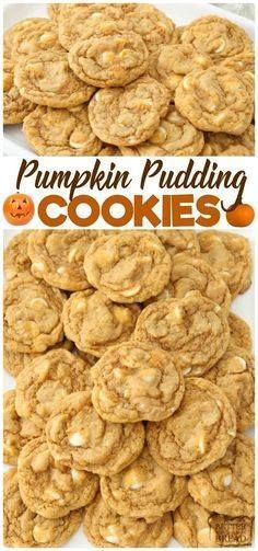 Pumpkin Pudding Cook Pumpkin Pudding Cookies are soft sweet...  Pumpkin Pudding Cook Pumpkin Pudding Cookies are soft sweet & pumpkin spiced with pudding mix for the best flavor & texture. Easiest #pumpkin #cookies ever from Butter With A Side of Bread Recipe : http://ift.tt/1hGiZgA And @ItsNutella  http://ift.tt/2v8iUYW
