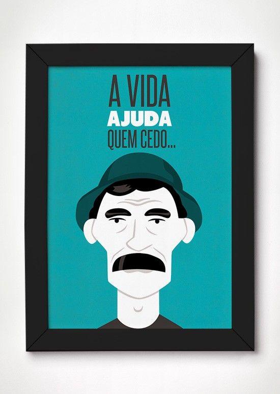 Poster Seu Madruga - Meu Adorável Iglu