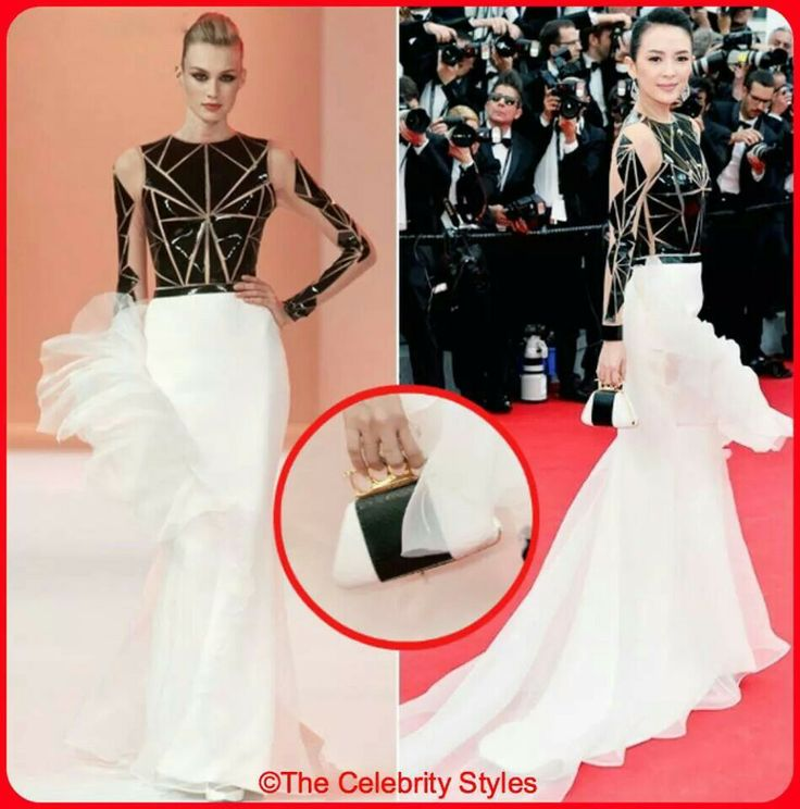 【The 67th Cannes Red Carpet】Chinese actress #ZhangZiyi was dressing in Stéphane Rolland Couture with a bochic clutch when she was attending the 67th Annual Cannes Film Festival on 14 MAY 2014!  #StéphaneRolland #Couture #bochic  #clutch #Cannes #CannesFilmFestival #Hollywood #Celebrity #Whowearswhat #WhoWoreWhat #Fashion #dress #movies #stars #Chinese #France #Redcarpet