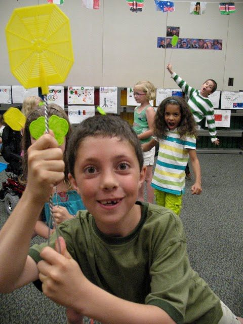 Music Olympics. Very creative! My kids would love this, and it would be fun if we ever did a Summer Olympics theme for summer school again...