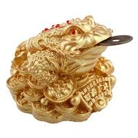 Home | Gold Feng Shui Money Fortune Oriental Chinese I Ching Frog Toad Coin Store