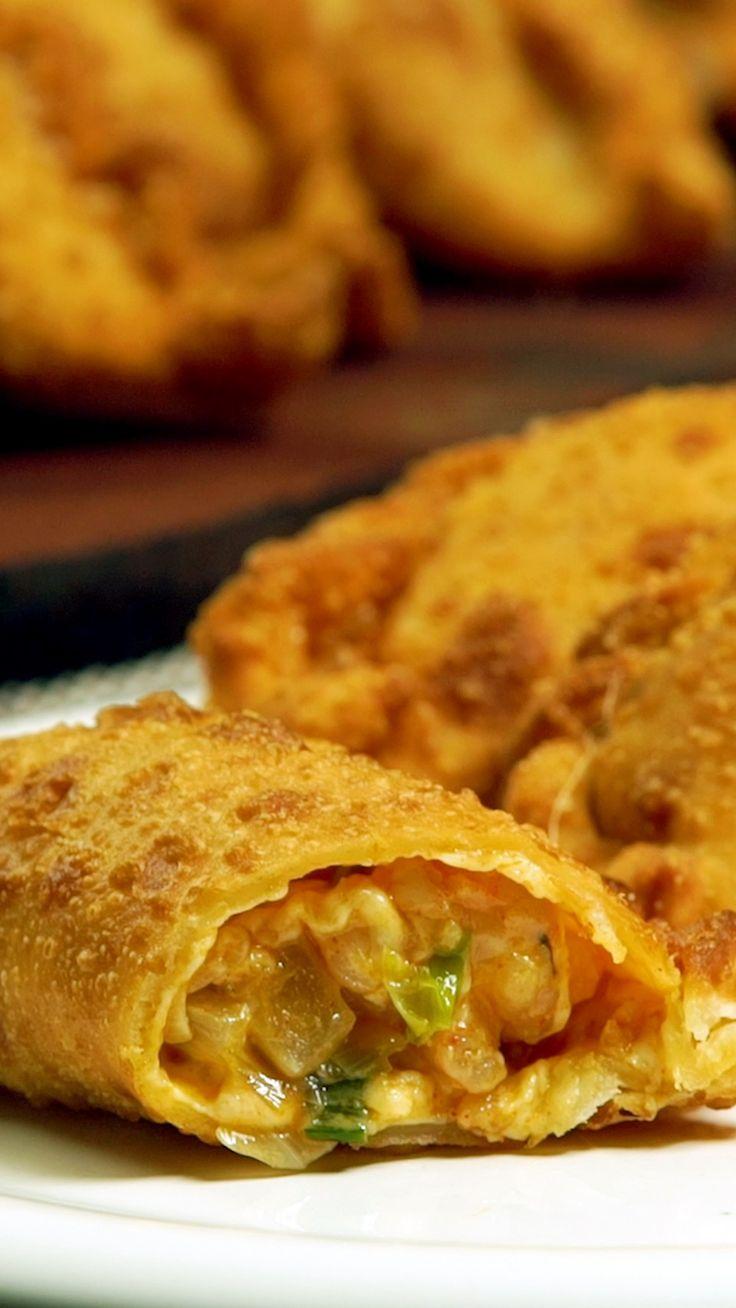 Empanadas de Camarón y Queso