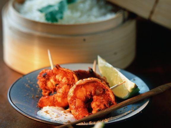 Würzig marinierte Garnelen mit Reis ist ein Rezept mit frischen Zutaten aus der Kategorie Garnelen. Probieren Sie dieses und weitere Rezepte von EAT SMARTER!