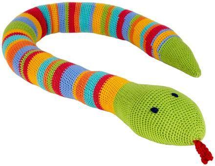 Moda Vera Cupcake Crochet Snake - Project - The Spotlight ...