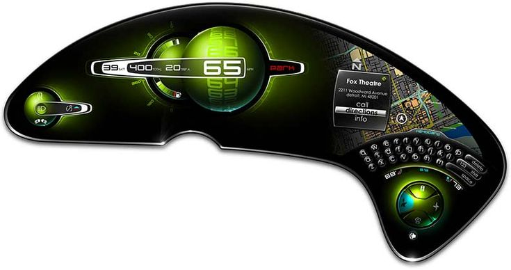 Chrysler 200C, Futuristic Dashboard, future car, concept car
