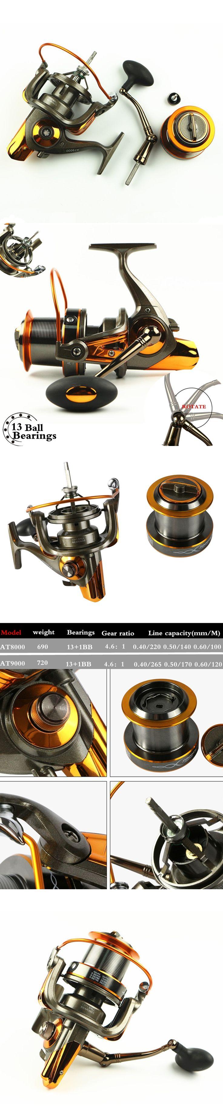 Full Metal Body Daiwa alike size 8000/9000 Long Shot casting carp Lure Fishing Reel 19KG Max Drag Sea Boat Fishing wheel