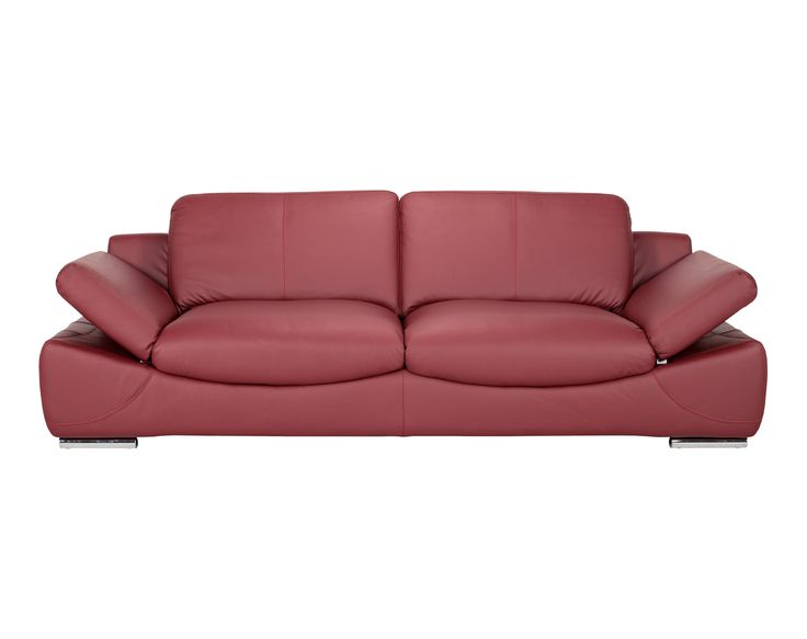 Spark 3 Seater / Colour: Majestic #leather #sofa #elegant #cozy
